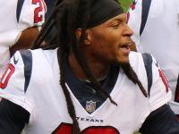 "DeAndre Hopkins of Houston Texans team has a ""strange"" way to celebrate after winning"